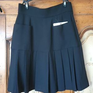Chanel boutique wool skirt